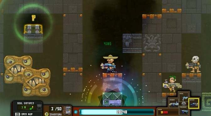 Platformines – 16bit-style 2D shooter – Available Today On Steam