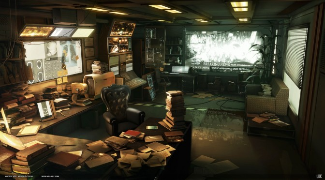 Deus Ex: Human Revolution Recreated In Unreal Engine, Looks Just As Good As The Game's Concept Art