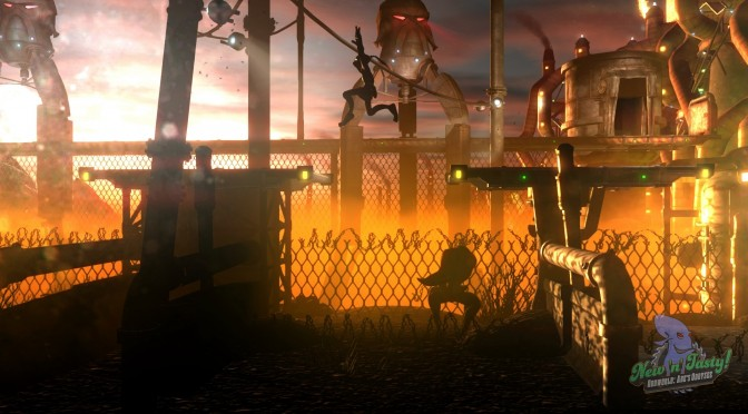Oddworld: New 'n' Tasty Search is now available for free on Epic Games Store