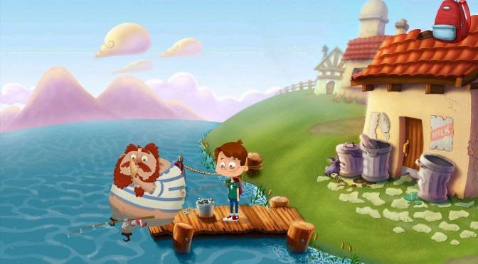 Inspire Me – New Point-and-click Adventure – Gets A Kickstarter Campaign