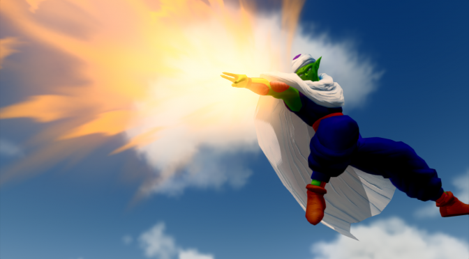 Earth's Special Forces – Fan-made DBZ Game – Shows Amazing Detail