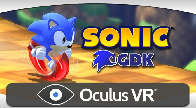 Here Is A Fan-Made Sonic Game, Powered By Unreal Engine, Running With Oculus Rift