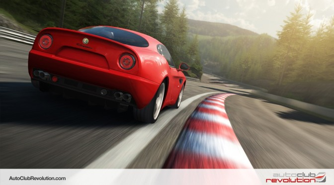 Auto Club Revolution – Free-To-Play Online Racing Title – Adds Alfa Romeo Vehicles To Its Roster