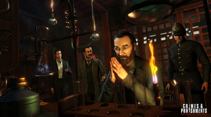 Sherlock Holmes: Crimes & Punishments Releases This September, Gets New Screenshots