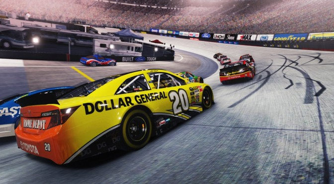 NASCAR '14 – NVIDIA CUDA-powered Particle Effects Showcased
