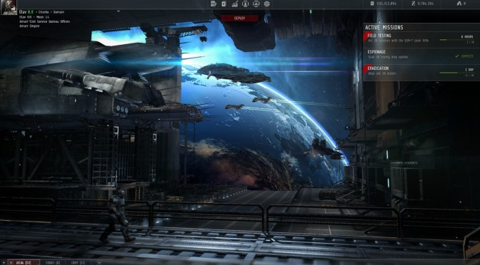 Here Is Your First Look At CCP Games' Project Legion