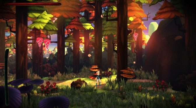 Red Goddess – 2.5D Action-adventure-combat-puzzle – Kickstarter Campaign Launched
