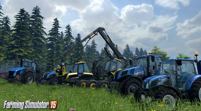 Farming Simulator 15 Gets Launch Trailer