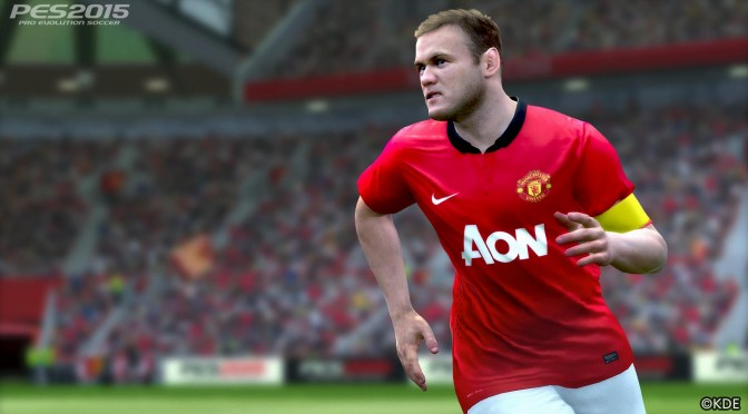 Pro Evolution Soccer 2015 – New Screenshots Released, Focusing On Manchester United