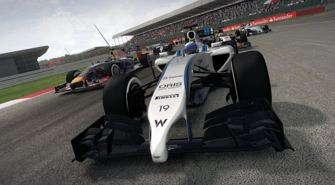 F1 2014 – New Hotlap Video Shows Lewis Hamilton On The Hockenheimring