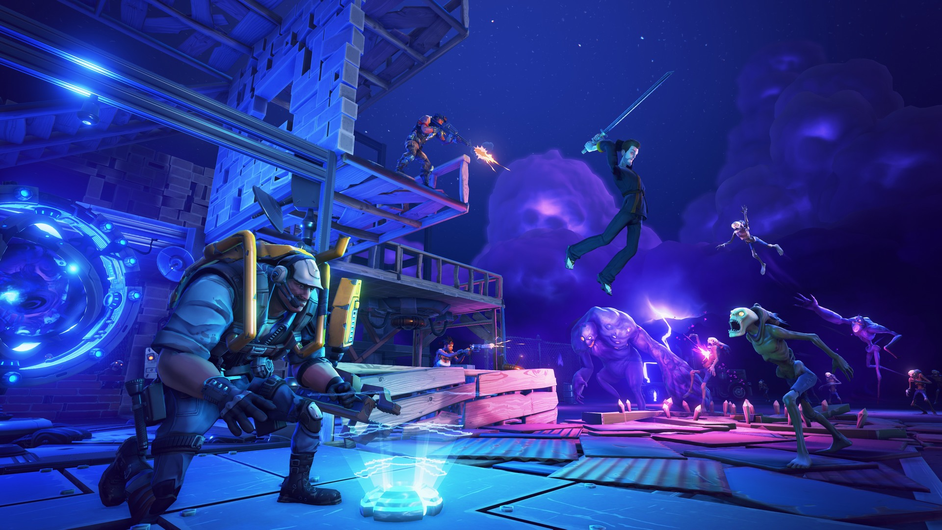Epic S Fortnite Gets New Screenshots Gameplay Trailer Dsogaming