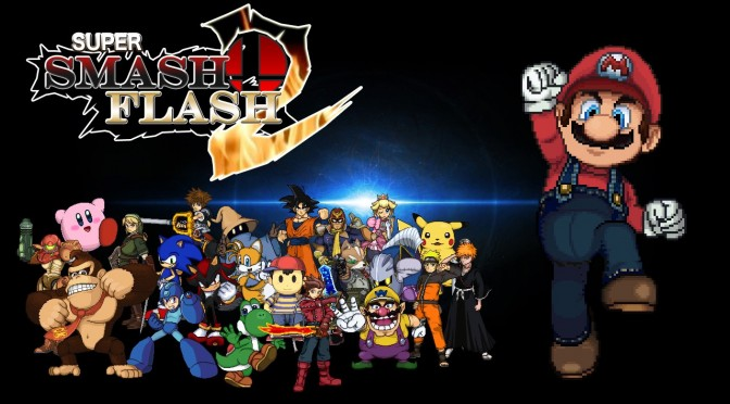 New version of the Super Smash Flash 2, free Smash game playable in your browser, is now available