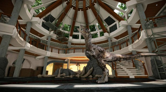 Jurassic Park : Aftermath – New Screenshots Showing Raptor & Visitor's Center Building