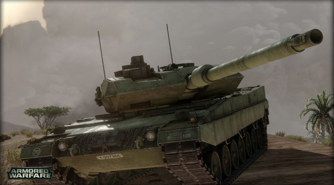 Armored Warfare – World Premier Public Gameplay Footage