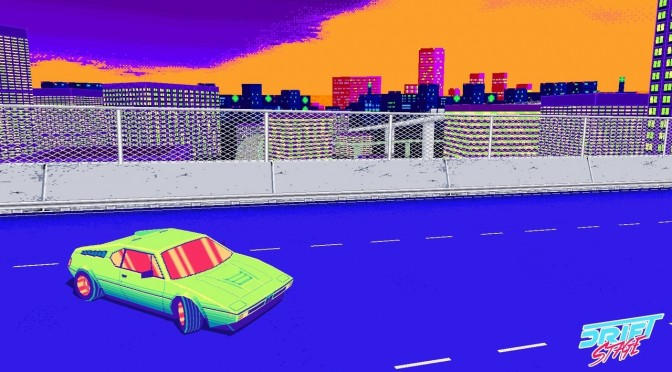 Drift Stage – Classic Arcade Racer With Late 80s Visuals – Gets New Teaser Trailer