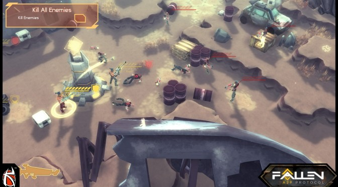 Fallen: A2P Protocol – Turn-based Tactical RPG/Strategy Hybrid – Gets Kickstarter Campaign