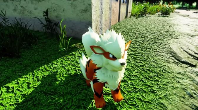 Pokemon World – Open-World Free Pokemon Game Powered By CRYENGINE – Gets New Update Video