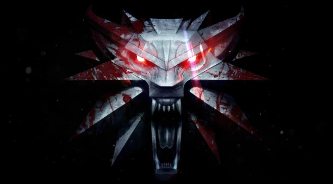 The Witcher 3 logo header