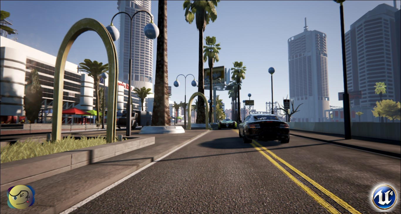 AQP City - GTA V Inspired Game In Unreal Engine 4 - Gets IndieGoGo