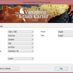 The Vanishing Of Ethan Carter PC Options 1