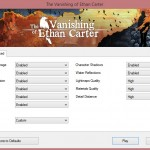 The Vanishing Of Ethan Carter PC Options 2
