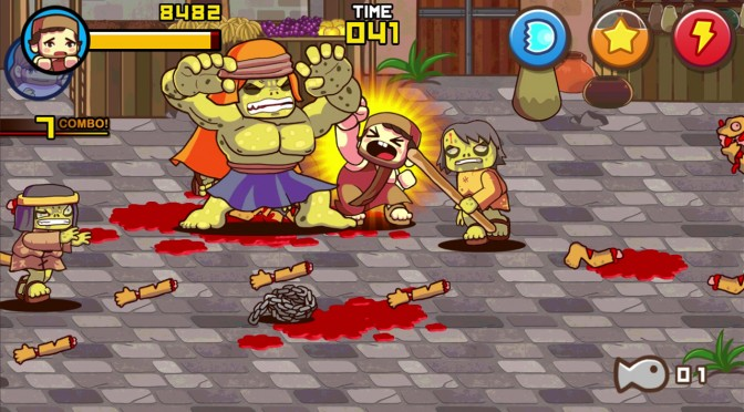 Fist of Jesus – Beat'em Up Classic Style Arcade Game with RPG Elements – Releases Today