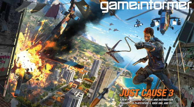 Just Cause 3 Officially Announced, Targets 2015 Release Date