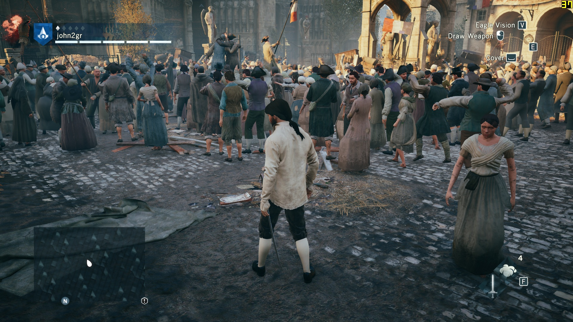 Assassin's Creed: Unity - PC Performance Analysis - DSOGaming