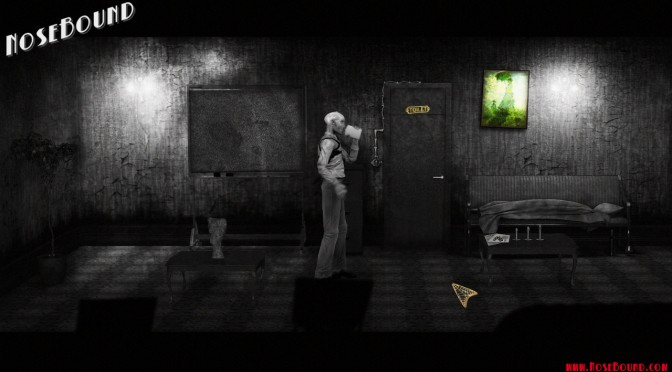 PC Gamers, Meet NoseBound; A Detective Point & Click Adventure In The Vein Of Film Noir
