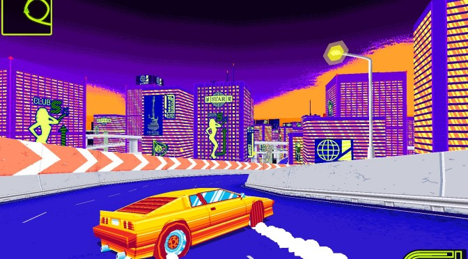Drift Stage – Classic Arcade Racer With Late 80s Visuals – Gets Demo