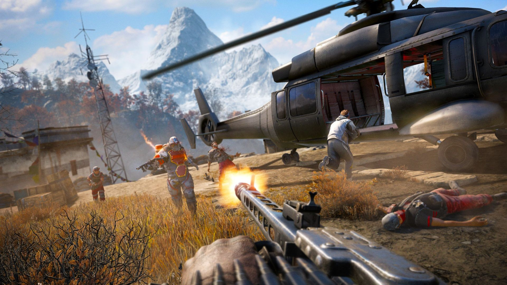 Far Cry 4 Pc Patch 1 8 0 Now Available Adds Custom Map Co Op