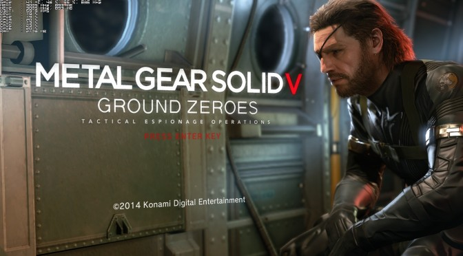 Metal Gear Solid: Ground Zeroes – PC Performance Analysis