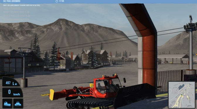 Snowcat Simulator Is A Thing, Now Available On Steam