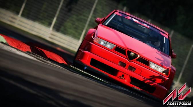 Assetto Corsa – New Beautiful Screenshots Show The Alfa Romeo 155 V6 DTM In Action