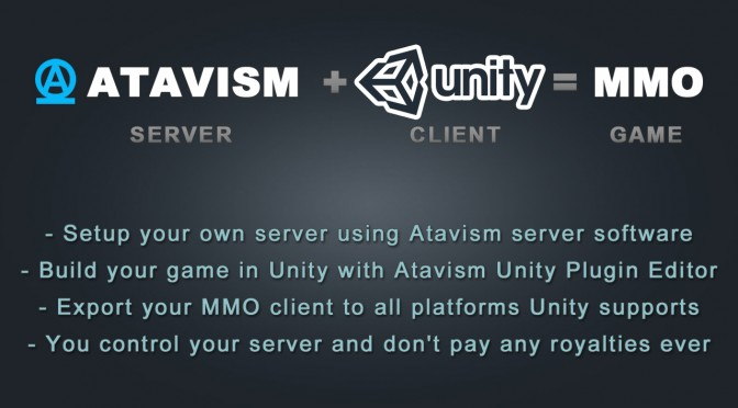 Atavism Game Engine Now Available On Steam, Priced At $70, Aimed At Developing MMORPG Games