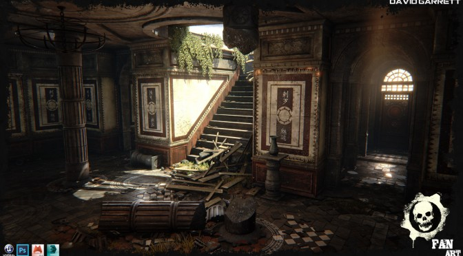 Gears Of War Map Recreated In Unreal Engine 4 [Finished Project]