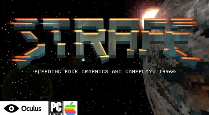 STRAFE, action-packed retro first-person shooter, releases on March 28th