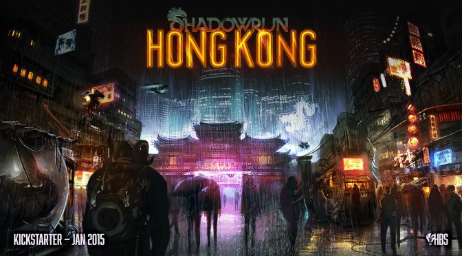 Shadowrun: Hong Kong – Kickstarter Campaign Hits Initial Goal In Just A Couple Of Hours