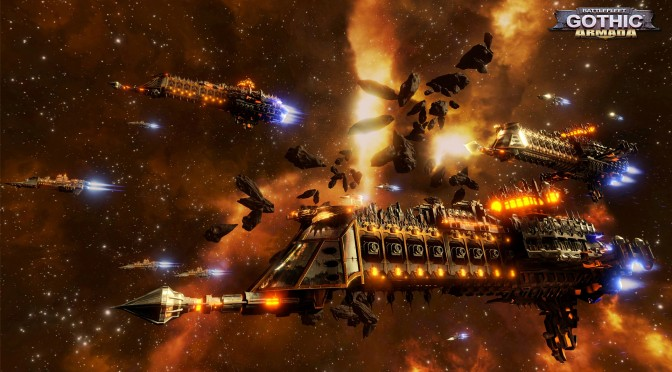 Battlefleet Gothic: Armada Announced, Powered By Unreal Engine 4, First Screenshots
