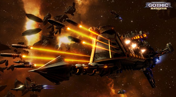 Unreal Engine 4-powered Battlefleet Gothic: Armada Gets Teaser Trailer