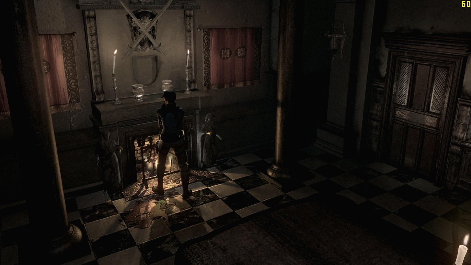 Resident Evil HD Remaster - Low Vs High Comparison Screenshots - DSOGaming