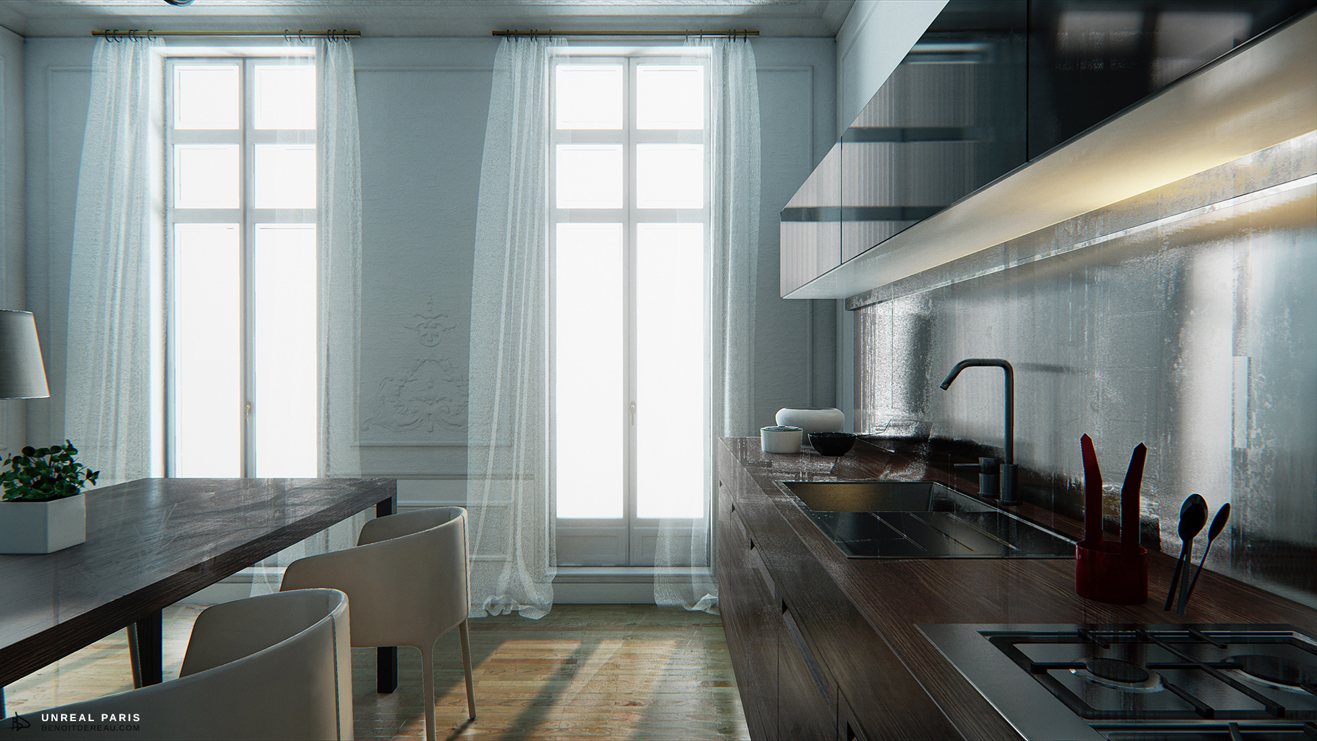 Unreal Engine 4 Download The Mind Blowing Unreal Paris Map Experience The Best Visuals Ever