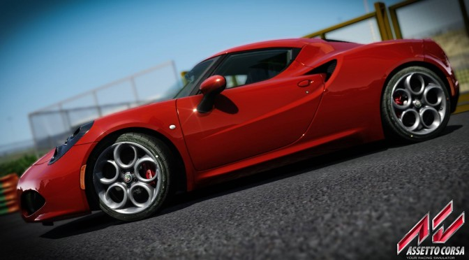 Assetto Corsa – New Screenshots Show off the Alfa Romeo 4C