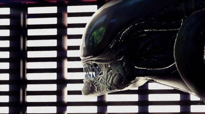 Alien Isolation Xenomorph screenshots