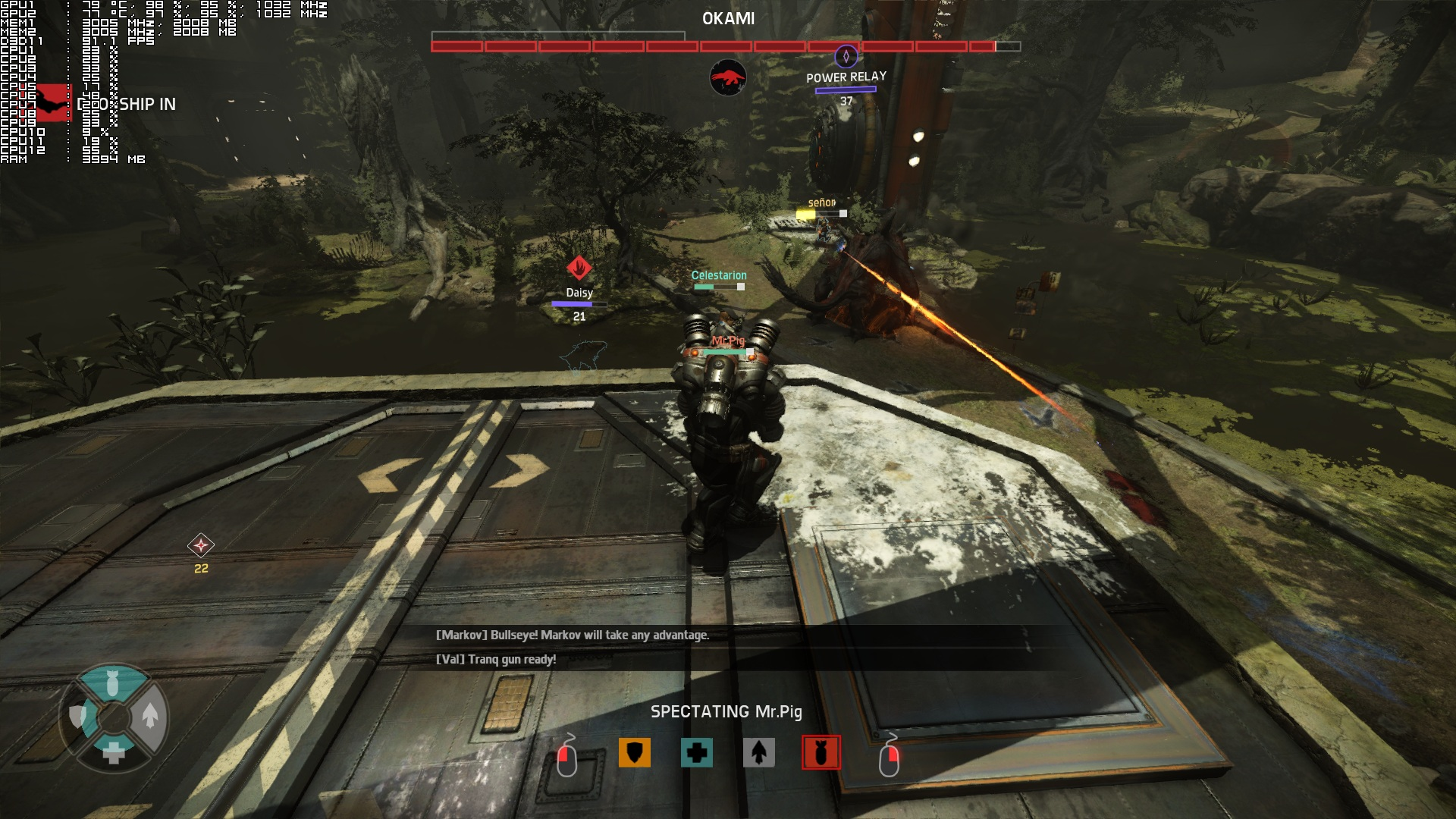 Evolve PC Performance Analysis DSOGaming The Dark Side Of Gaming - Power Relay Evolve