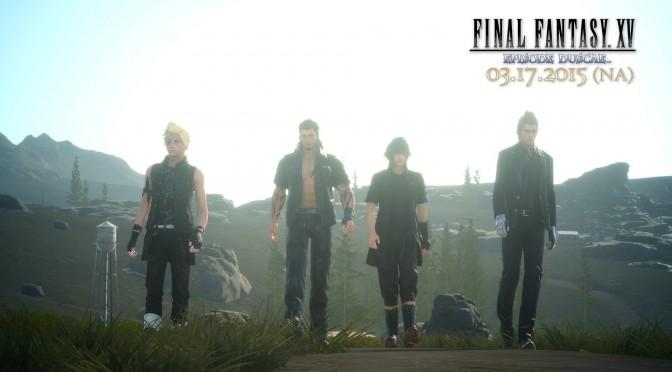 "Final Fantasy XV – ""Duscae"" Demo Walkthrough"