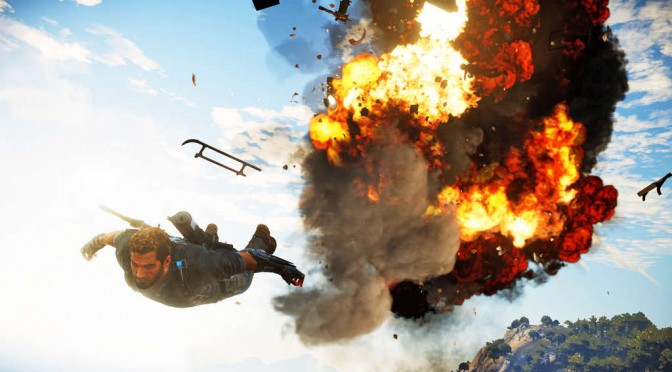 Just Cause 3 Multiplayer – New video showcases parachute & wingsuit synchronization