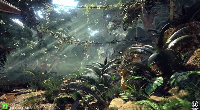 This Is One of the Best Forest Environments You've Ever Seen, Powered by Unreal Engine 4 & Megascans
