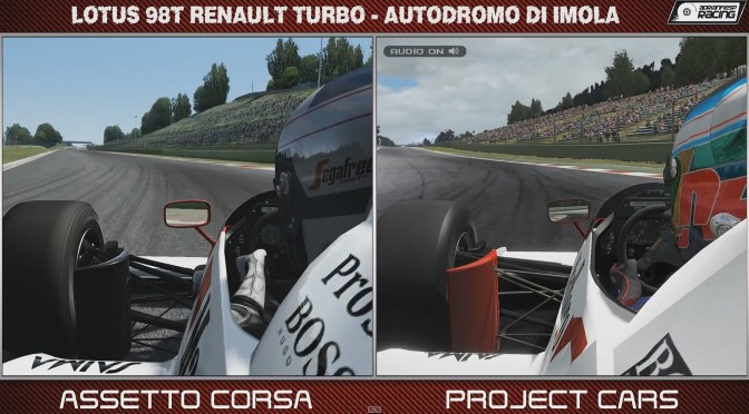 Project CARS vs Assetto Corsa – Historic F1 Comparison Video