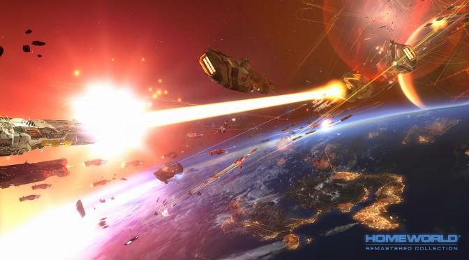 Homeworld Remastered Collection Gets New Beautiful Screenshots